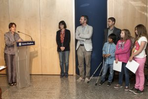 Lliurament de premis del concurs de collages al voltant de poeme