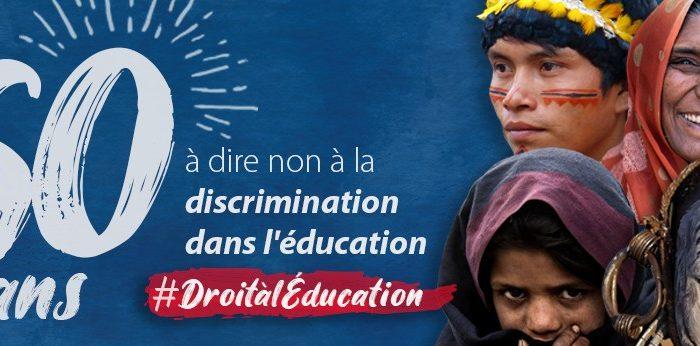 No a la discriminació en l'educació